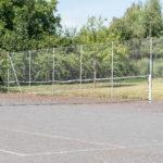 Le court de tennis extérieur